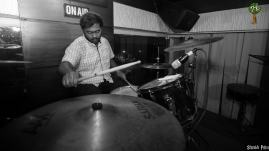 Navneeth Krishnan on drum duties
